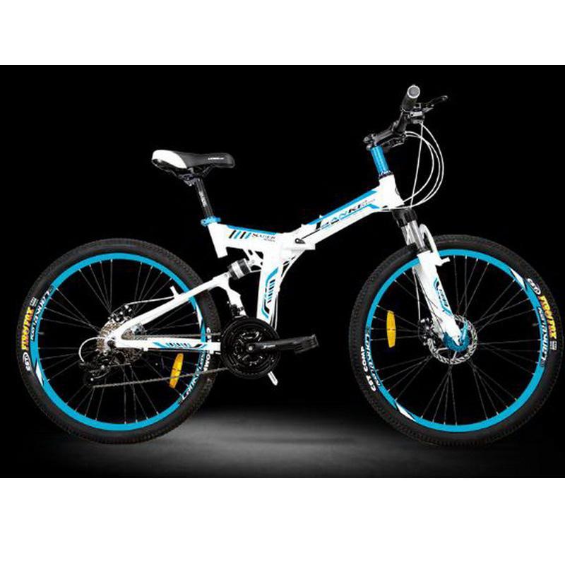 L260105 /27 Speed/26 Inches/Folding Mountain Bike/Riding Car ...