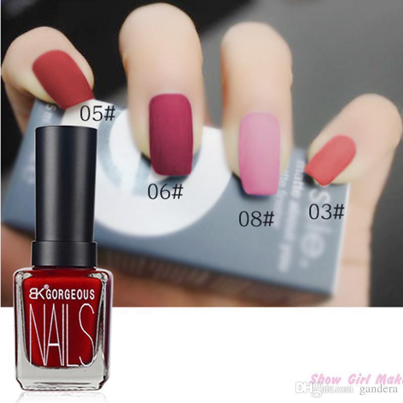 Wholesale Bk Character Matte Gel Nail Polish Lasting Shine 15ml Nail ...