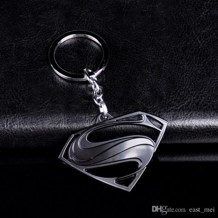 Good A++ Anime Key Chain Avenger Alliance Pendant Auto Parts Superman S Logo Creative Gifts KR068 Keychains a