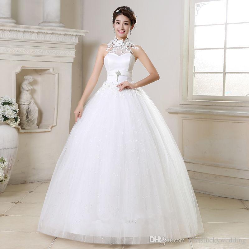 Discount Cheap Wedding Gowns 2017 Plus Size Lace Wedding Dress ...