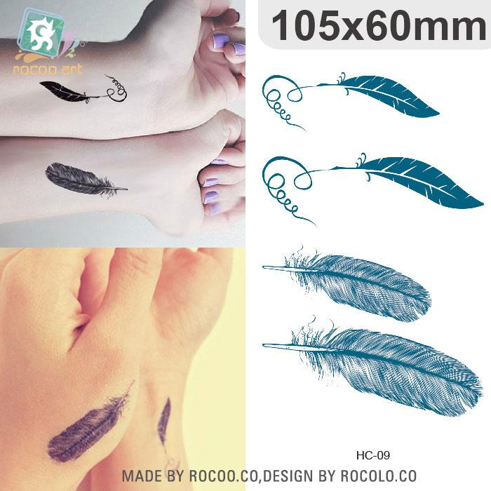 10.5*6cm Temporary Fake Tattoos Waterproof Tattoo Stickers Body Art ...