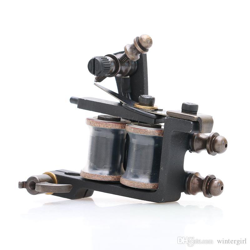 Noir Nouveau Type Vente Chaude De Tatouage Pistolet Professionnel Machine De Tatouage Pour Liner Haute Qualité Fourniture De Tatouage TM462
