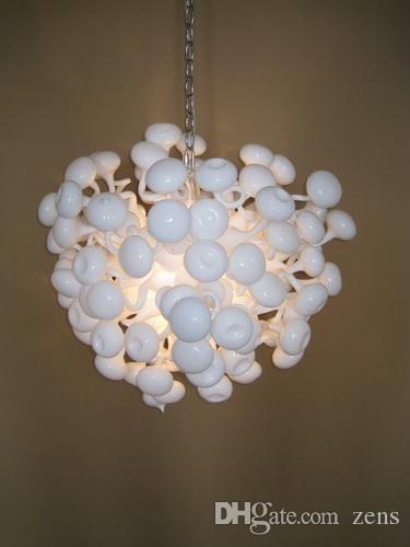 Plafoniere di arte moderna Accessori decorazioni di compleanno Funghi di vetro a forma di fungo di forma di vetro di Murano Ligts LR054