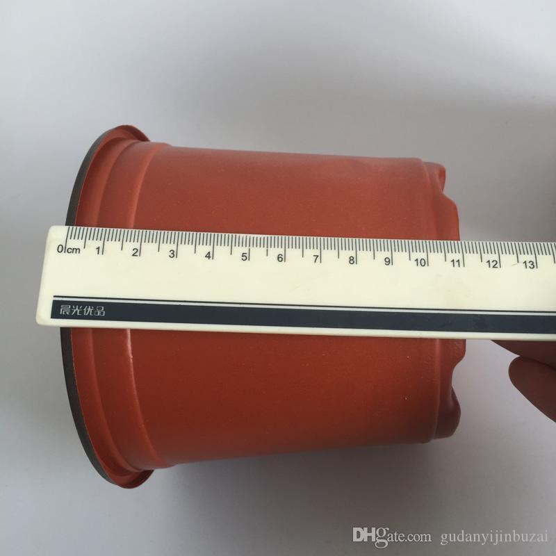 D12XH11CM Flower tub caliber corrosion resistance postoral plastic flower pots plastic Nursery pots Garden Pots SF-094-12