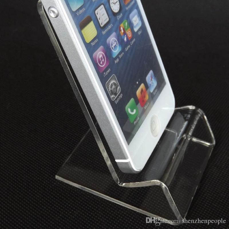 DHL livraison rapide Acrylique Téléphone portable téléphone mobile Supports  d affichage Supports pour téléphone intelligent de téléphone
