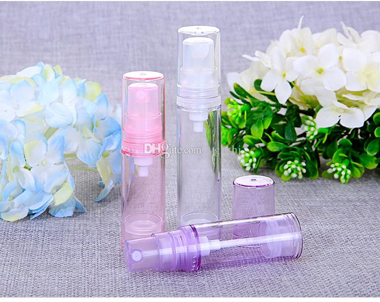 Wholesale 5/10ml vacuum bottle, small spray bottle, small watering can, cosmetic packaging bottles, sample bottles,
