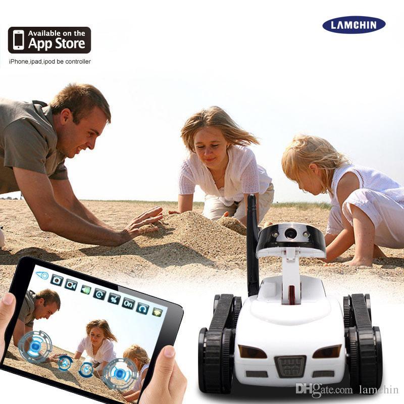 2017 High Quality Rc Mini Tank Car Hd Camera Video Car Toy Wifi