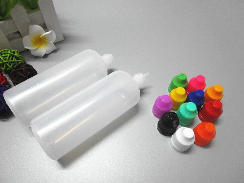 Envío gratis 120 ml LDPE botella con tapa a prueba de niños E botella de aceite de cigarrillo 4OZ gotero de plástico botella para jugo de vape Eliquid Ejuice