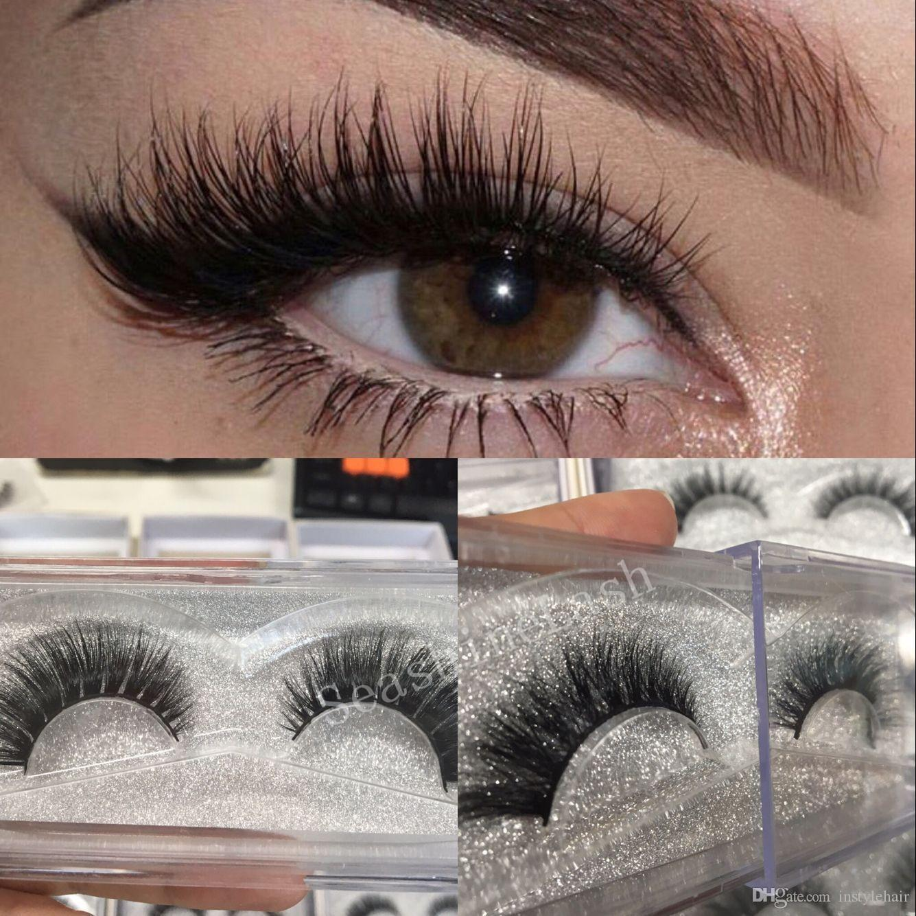 fc4ac56b996 High Quality Handmade 3D Mink Lashes Strip Luxury Thick Fake Faux ...