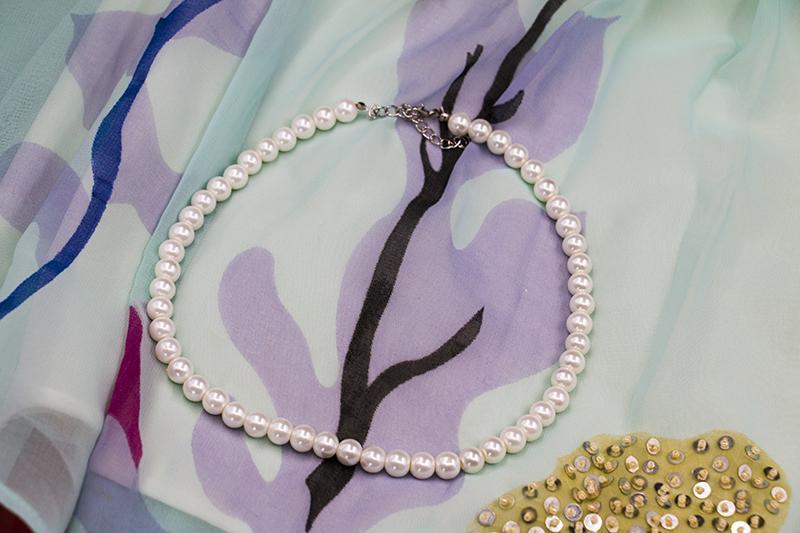 Accessoires vintage collier simulé perle bijoux de mariage ensembles bracelet de fiançailles boucles d'oreilles