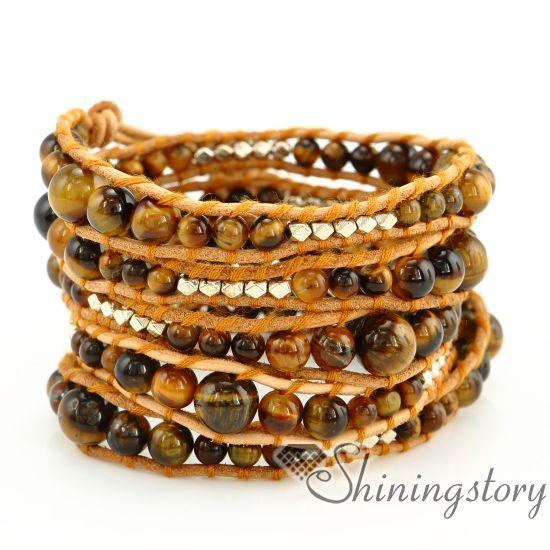 cuir gros 5 bracelets wrap couche populaires bracelets bracelets enveloppants en cuir pour les femmes pas cher perlaient bracelets bracelets en cuir pour gir