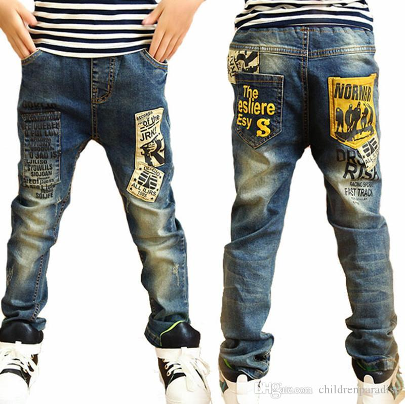 8f54a00ae High Quality Fashion Children Jeans For Boys,Slim Fit Korean Childrens Jeans,Baby  Boys Pants,Kids Boy Jeans Jeans Kids Boys Boys Jean Sizes From ...
