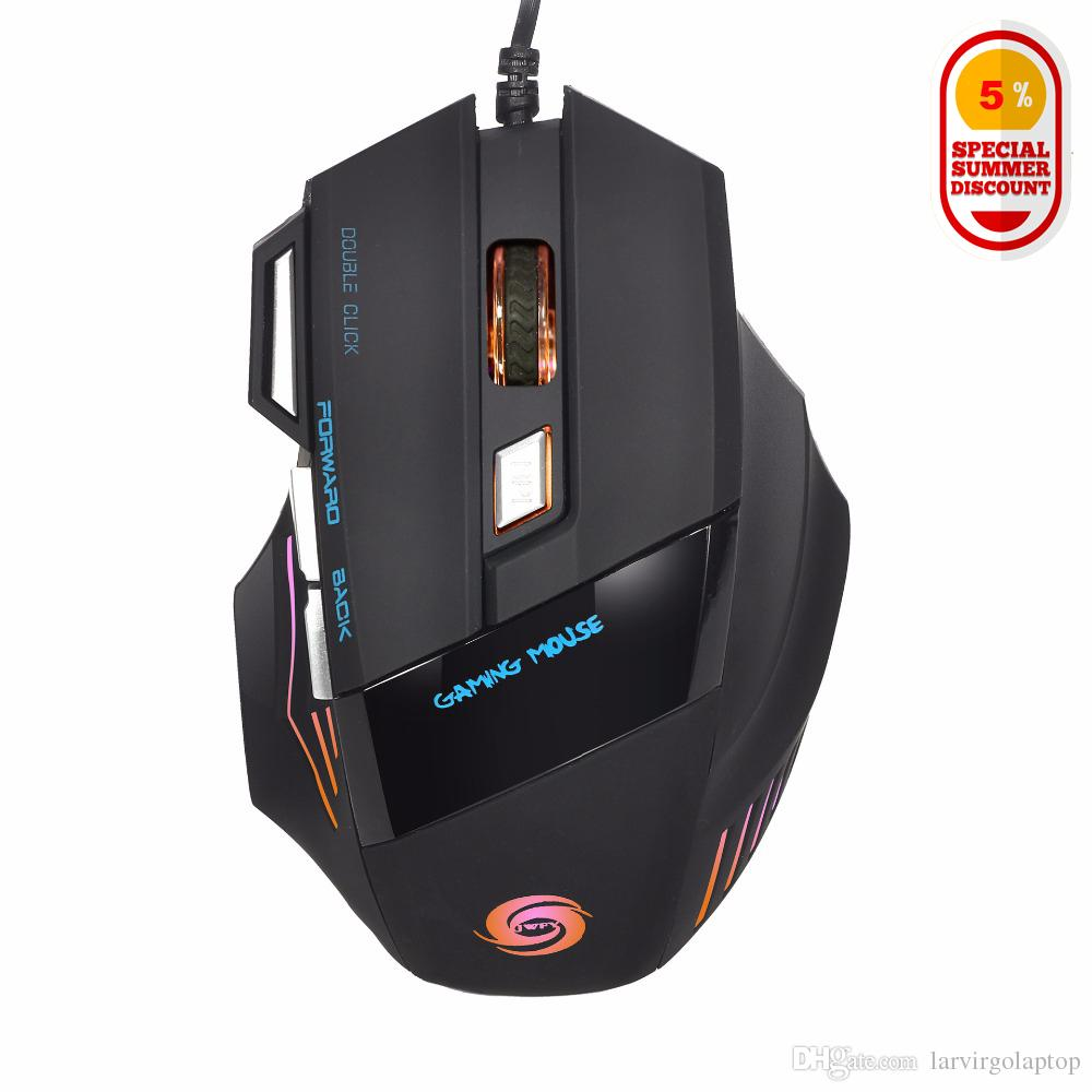 2018 Larvirgo 2017 2400dpi 7 Buttons Portable Usb Wired Mouse ...
