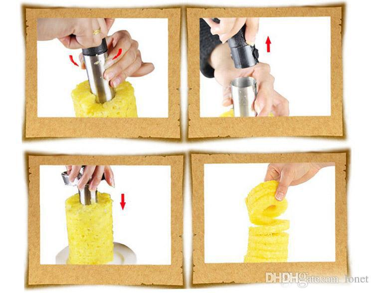 Quality Pineapple Slicers Peelers Cutters Pineapple Paring Knife Stainless Steel Kitchen Fruit Tools Gadgets
