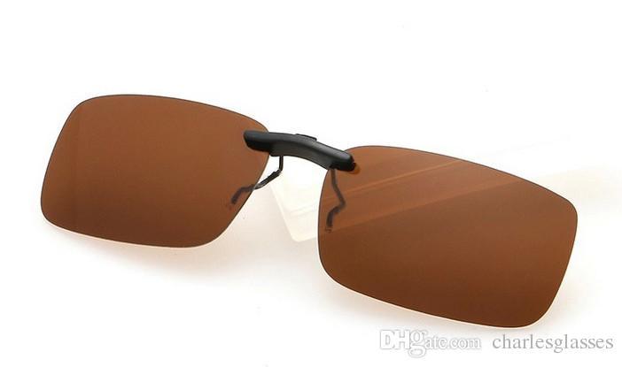 /  clip de moda en gafas de sol / gafas de sol polarizadas mujeres hombres espejo gafas de sol UV400