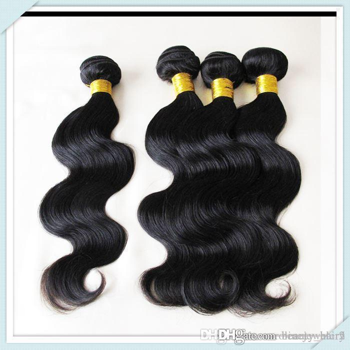 Natural Black Brazilian Nature Hair Wholesale Price Human Hair Top