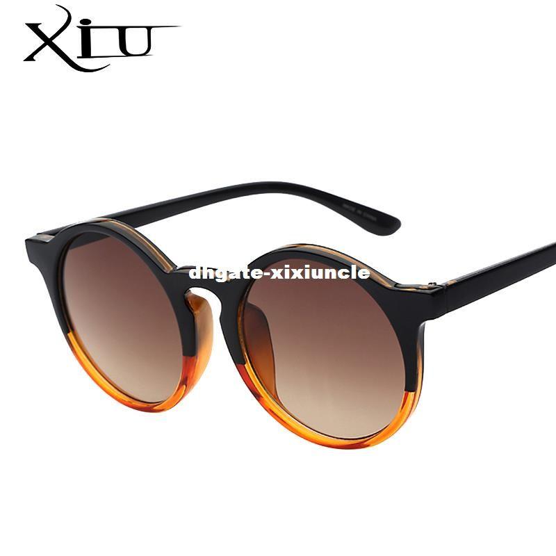 121d316a23b8 Oversized Round Sunglasses Women Brand Designer Sunglases Woman Sun ...
