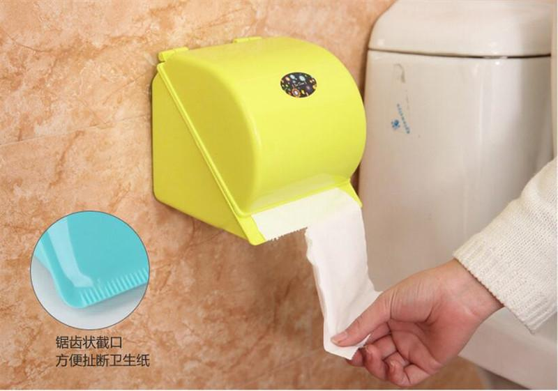 Wholesale Toilet Paper : Wholesale strong wall suction tissue holder toilet paper holder