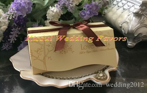 /ロット(20bbox)愛の鳥のセラミック塩とコショウのシェーカーの結婚式の好意を最もよく入ってください