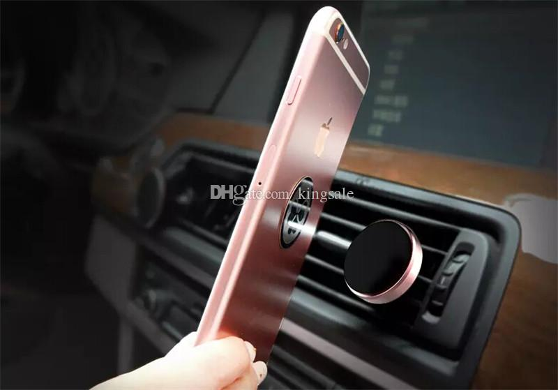 Universal Handyhalterung Magnetic Car Air Vent Zubehör Handyhalterungen Halter Zubehör schnelles Verschiffen