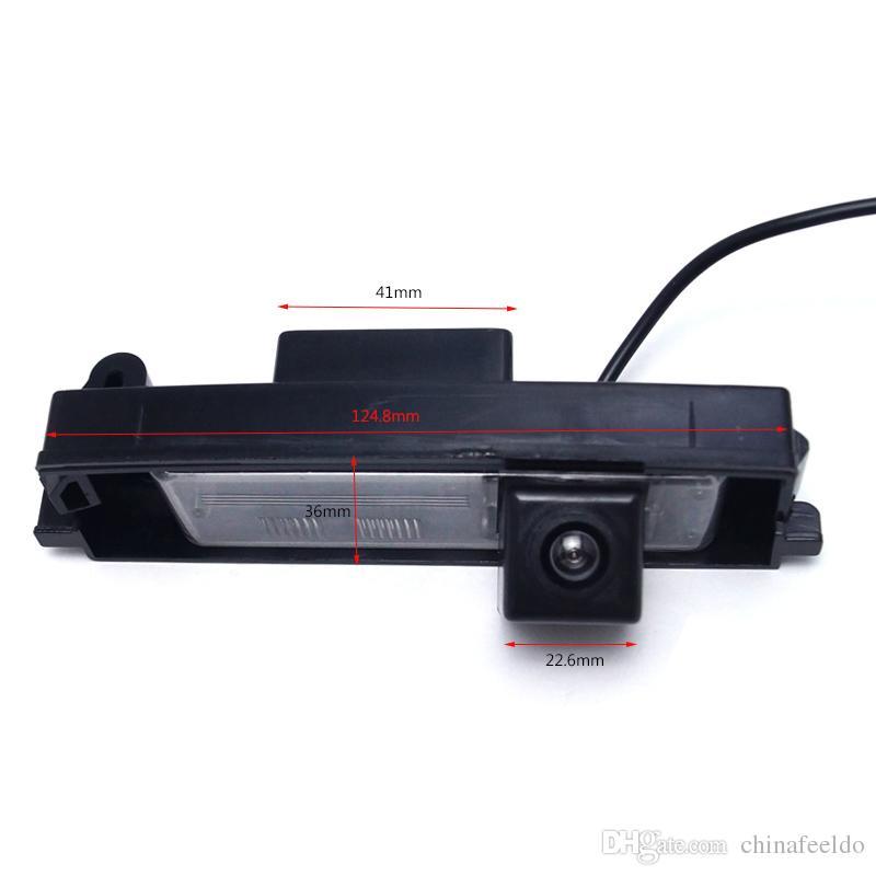LEEWA großhandel Spezielle Auto Rückfahrkamera Rückfahrkamera Für Toyota RAV4 / Porte / Platz / Vitz / Yaris Fließheck # 4054