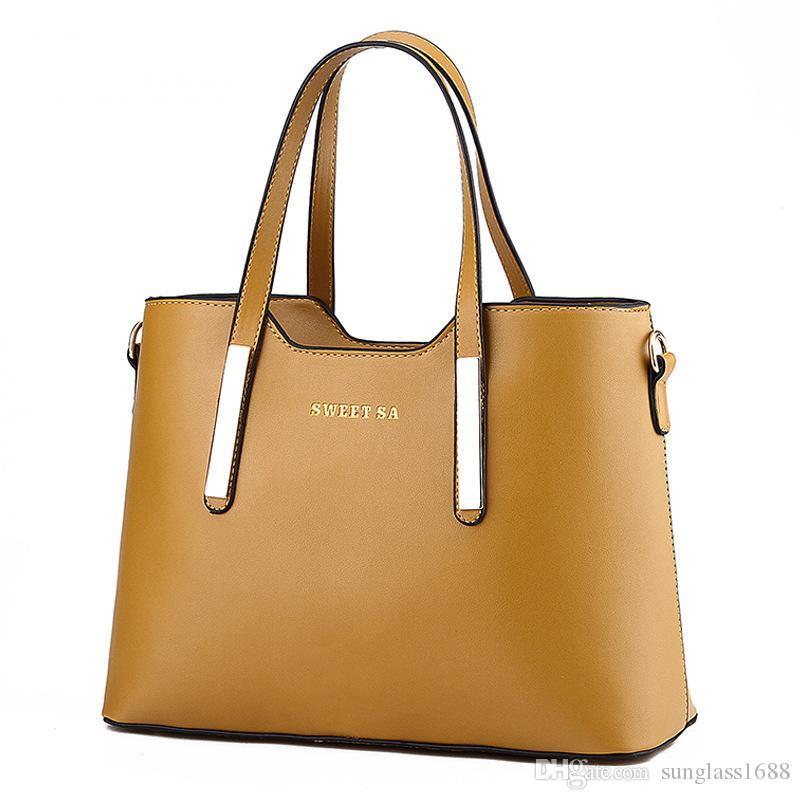 Navy Blue Women Handbag Shoulder Bags Tote Purse Leather Lady Messenger Hobo Bag