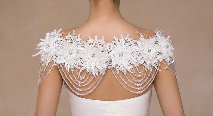 2017 getroffen Neue hochwertige europäische und amerikanische populäre Schulter Schulterkette Luxus Luxus Diamantperlen Sets Kettenschulter ein Wort