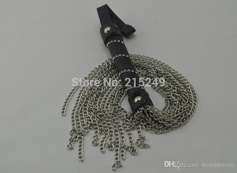 Bdsm Metal Chains Flogger Whips Ass Spanking in giochi adulti coppie, Fetish Erotic Sex Products Giocattoli donne e uomini