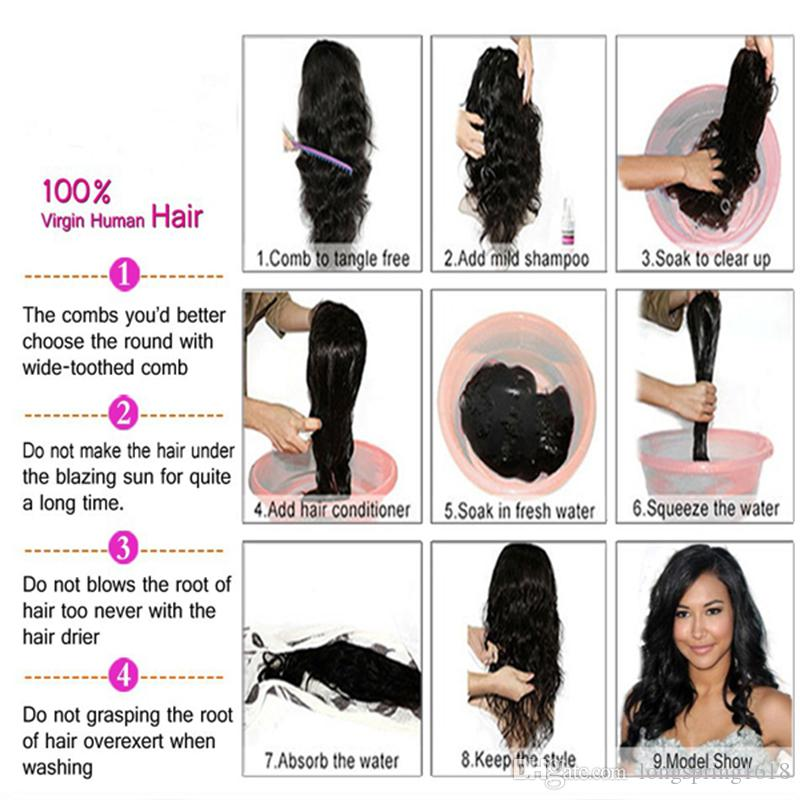 10A Grade Purple Lace Front Human Hair Wigs For Black Women Natural Hairline Brazilian Virgin Full Lace Wig With Baby Hair
