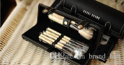 Spazzole trucco Bobi Brown set di marche il trucco Kit di imballaggio barilotti pennello con specchio vs sirena