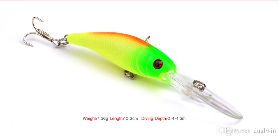 Top Quality Fishing Lures 10.1cm/7.8g fishing tackle Minnow fishing bait DW1035
