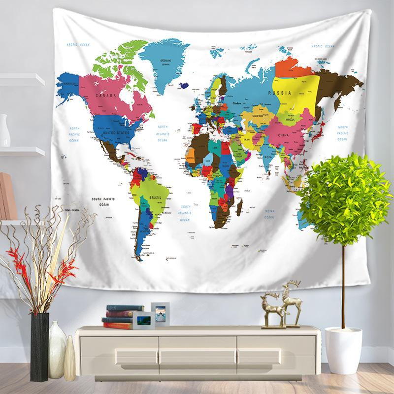 5 designs 150x130cm world map tapestry soft retro wall hanging cover 5 designs 150x130cm world map tapestry soft retro wall hanging cover up blanket beach towel yoga mat hipster tapestry hipster wall tapestry from gumiabroncs Images