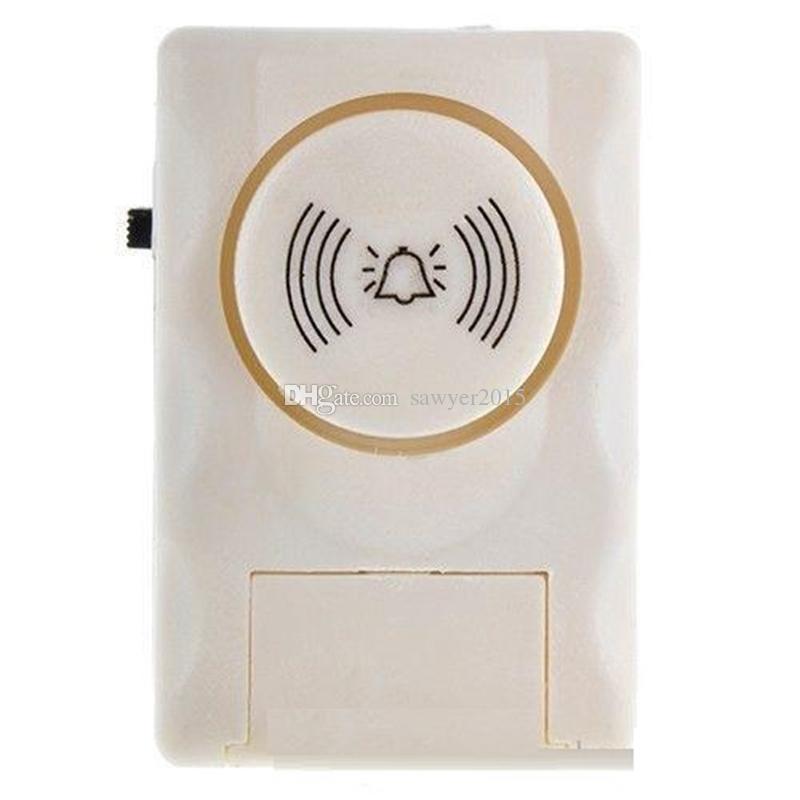 Súper ruidosas puertas y ventanas de alarma Sistema de advertencia de alarma Sensor magnético de la puerta alarma de seguridad para el hogar con caja al por menor