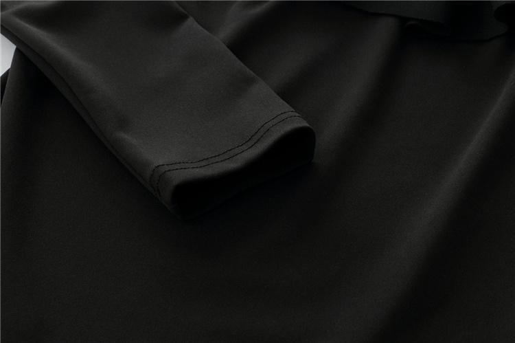 2017 Monos de verano Mujeres Body Sexy Ruffle Rompers Negro / Blanco Playsuits One shoulder Jumpsuit Combinaison Femme MTL170730