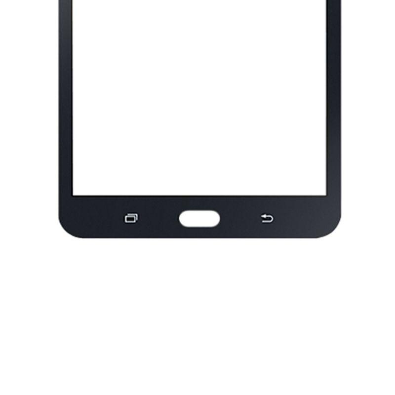 50 UNIDS Probado Negro Blanco Para Samsung Galaxy Tab A J 7.0 2016 T280 T287 T285 Pantalla Táctil Panel Externo Delantero de Cristal Pieza de Repuesto DHL