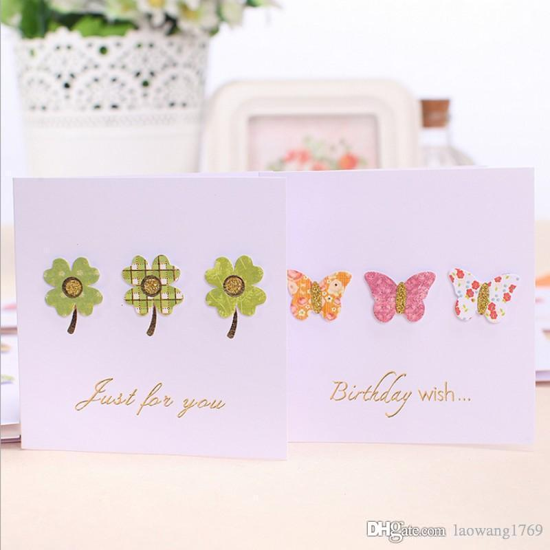 3d small stick decorations elegant sweet greeting card envelope 3d small stick decorations elegant sweet greeting card envelope message card thank card birthday holiday cards universal business greeting cards business m4hsunfo