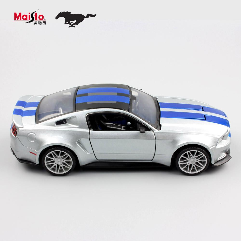 See larger image  sc 1 st  DHgate.com & 2017 1:24 Children Maisto 2014 Ford Mustang Metal Diecast Racing ... markmcfarlin.com