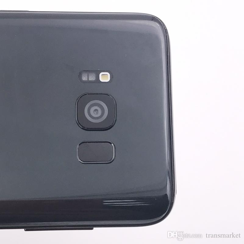 5,8 Zoll Goophone S8 + S8 Plus Smartphone MTK6580 Quad Core 1 GBRAM 16 GBROM Curve Screen Gute Qualität 8MP Zurück Kamera zeigen 4G / 128G billig Telefon