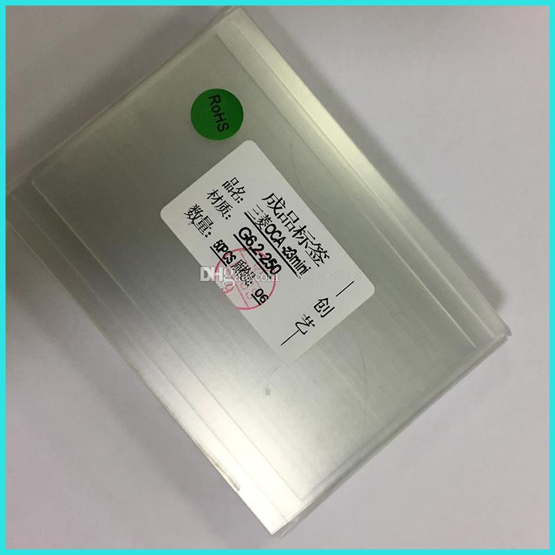 250um OCA Optical Clear Adhesive Film For Sony Xperia Z Z1 Z2 Z3 Z3 mini Z4 Z5 Z5 Mitsu Double Adhesive Sticker LCD Touch Screen Repairment