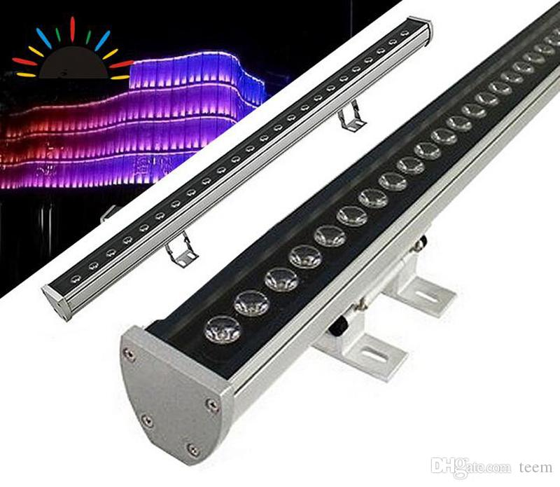18W 36W LED wall washer RGB 36W wash wall LED flood flood staining light bar luci barlight LED floodlight paesaggio illuminazione esterna 2020