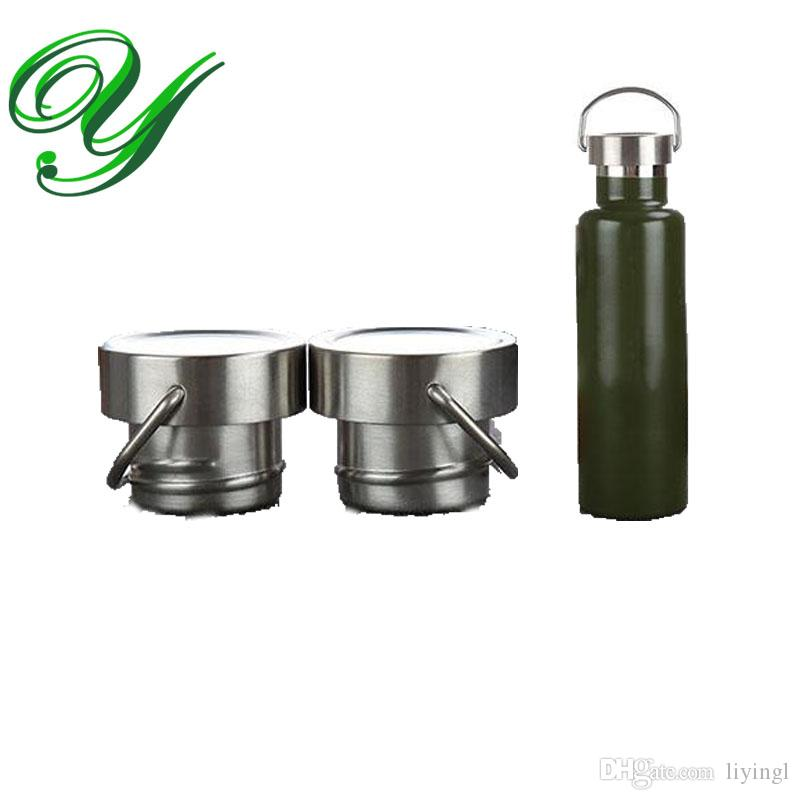 Stainless Steel Vacuum Insulated Sports Water Bottle Lid