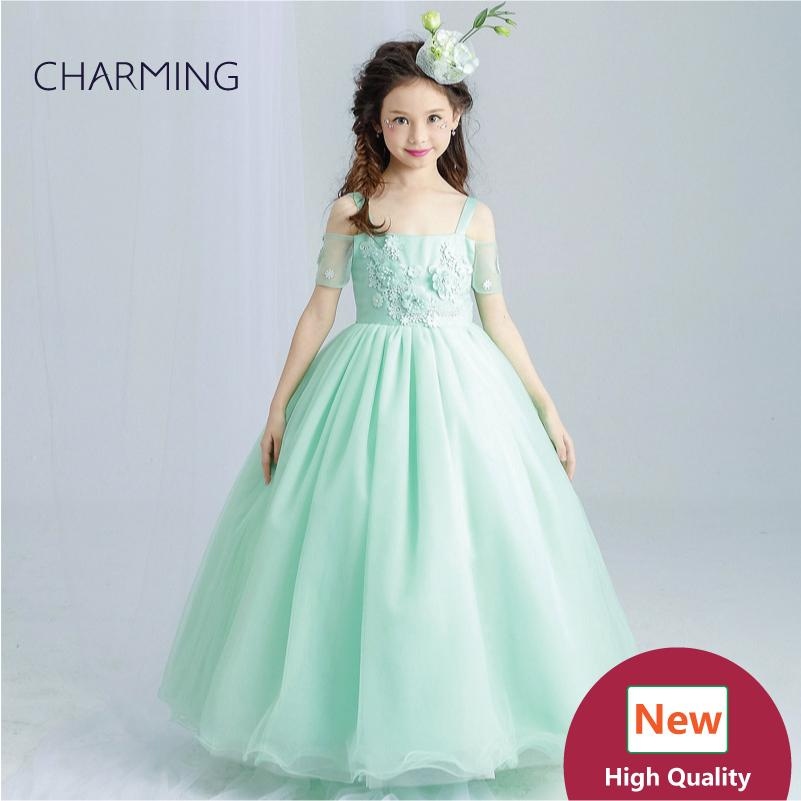 emerald green dress girls pageant dresses high quality designer