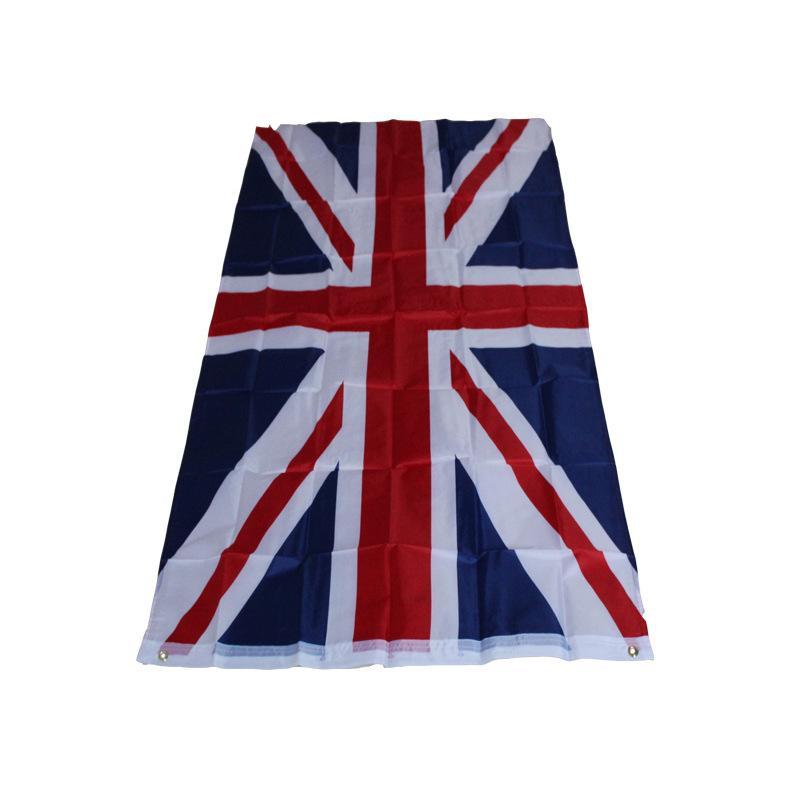 87 * 148см Великобритания Национальный флаг - Украшение дома Кубок мира Олимпийские игры Юнион Джек Великобритания Британский флаг Англия Флаги страны Баннер