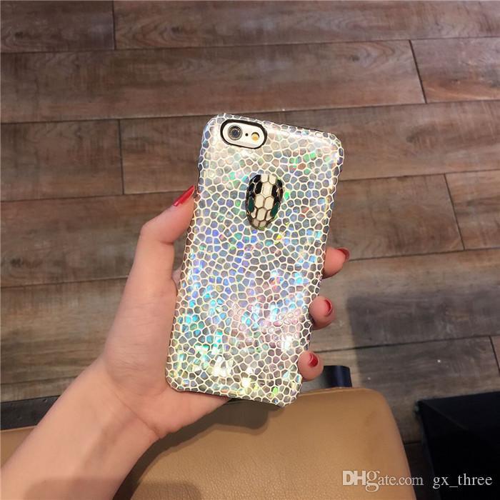 Patrón de cocodrilo en forma de panal tridimensional para iPhone6s cáscara del teléfono para Apple 6plus todo incluido caja de teléfono marea pareja patrón de cuero