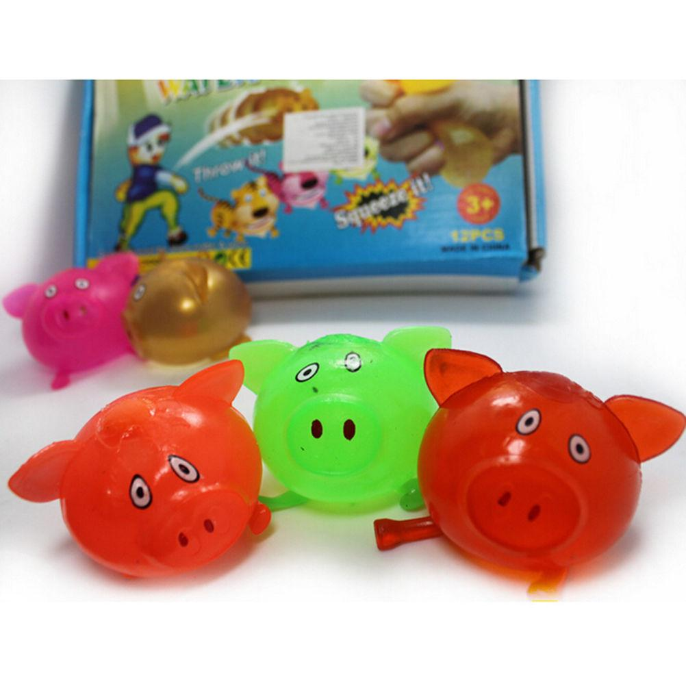 Novelty & Gag Toys Cute Anti Stress Pig Water Ball Vent Toy Squeeze Novelt Jokes Prank Toys For Kids Children Game