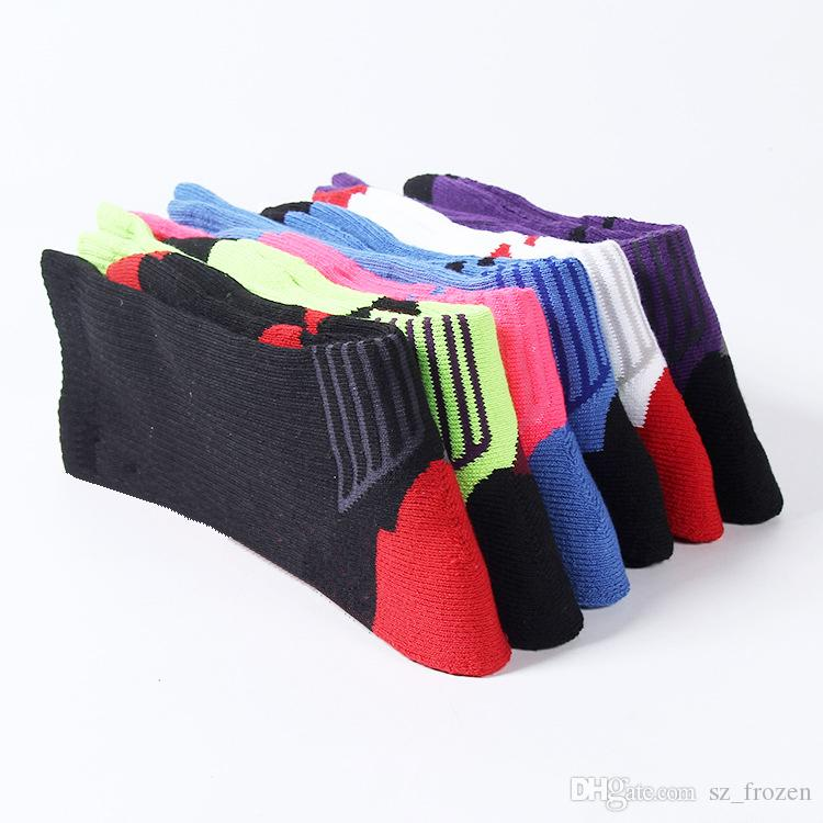 USA Professionelle Elite Basketball Socken Lange Knie Athletic Sport Socken Männer Mode Kompression Thermische Wintersocken großhandel A-0472