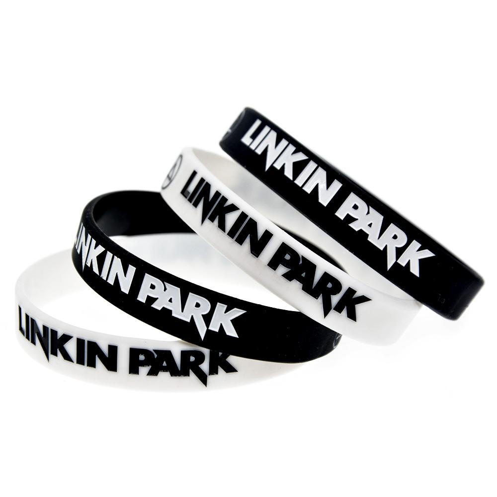 Linkin Park caucho de silicona de correas para los aficionados a la música regalo Llévela para apoyar a su ídolo