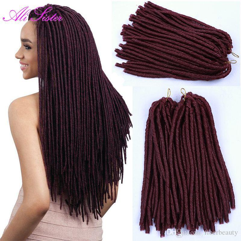 dreadlocks braids expression braiding hair synthetic hair soft locs