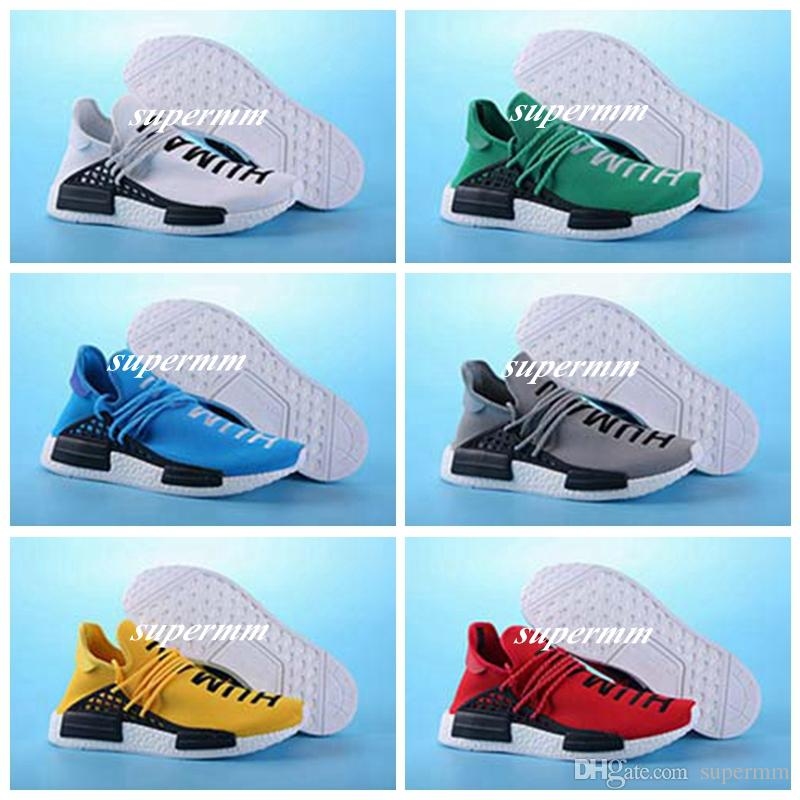 a8784716eb68e How Adidas Human Race NMD x Pharrell Williams Red Look on Feet · Yeezy Mafia  on Twitter