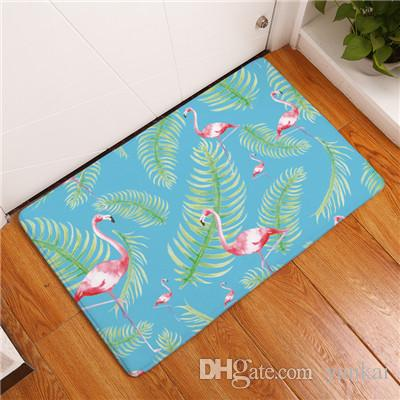 2017 New Home Decor Flamingo Carpets Non Slip Kitchen Rugs For Home Living  Room Floor Mats 40x60 50x80cm Vinyl Carpet Plush Carpet Tiles From Yankai,  ...
